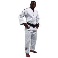 """Kimono for Judo """"Mondial"""" Matsuru - white with stripes"""