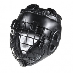 Headgear with face shield MMA Métal boxe