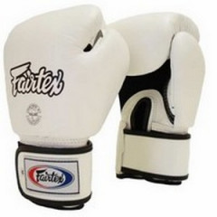 "Fairtex Boxing Gloves ""FXV1"" - White"