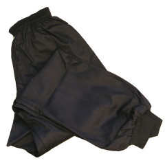 Black Kung Fu Pants - Black – lower leg session tightened