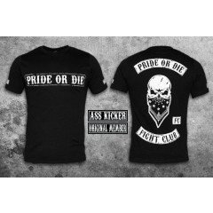 "Pride or Die T-shirt ""Fight Club"" - Black"