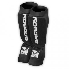 "Bad Boy ""Material"" Shin Pads - Black"