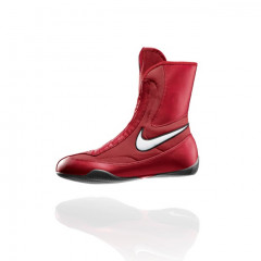 "Nike H""Machomai"" alf Rising Boxing Shoes - Red/White"