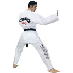Dobok Fuji Mae Master, white collar, ribbed Canvas