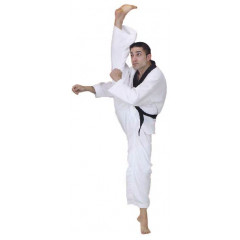 Dobok Fuji Mae Master, Black color, ribbed canvas