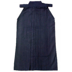 Hakama Aikido Kendo - Heavy cotton canvas - Blue night