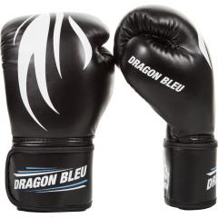 Gants de boxe Dragon Bleu - Noir
