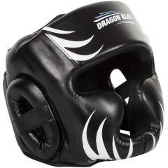 Dragon Bleu Boxing Headgear - Black