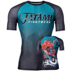Rashguard Tatami Fightwear Devils Triangle - Manches courtes