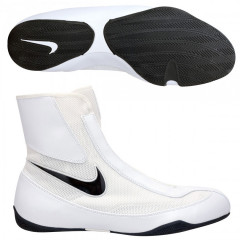 Chaussures de boxe Nike semi-montantes Machomai