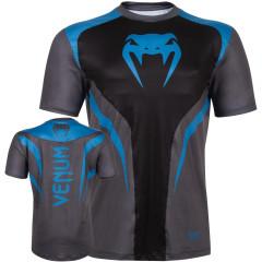 T-shirt Dry Tech Venum Predator - Black/Cyan