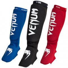 "Venum ""Kontact"" Shinguards and Insteps - Cotton"