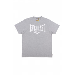 T-shirt Logo Heritage Everlast - Gris Clair