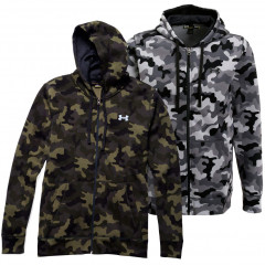Sweat-shirt à capuche zippé Under Armour Storm Rival Novelty