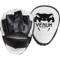 "Venum ""Light"" Focus Mitts - Ice/Black (Pair)"