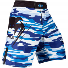 Venum Wave Camo Fightshorts - Blue