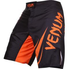 Venum Challenger Fightshorts - Black/Neo Orange