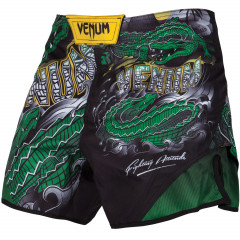 Venum Crocodile Fightshorts - Black/Green
