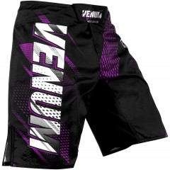 Venum Rapid Fightshorts - Black/Purple