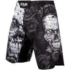 Venum Santa Muerte 3.0 Fightshorts - Black/White