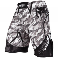 Venum Tecmo Fightshorts - Black/Grey