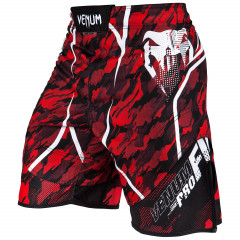 Venum Tecmo Fightshorts - Red/White