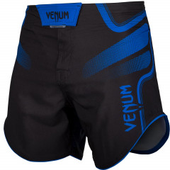Venum Tempest 2.0 Fightshorts - Black/Blue - Exclusive