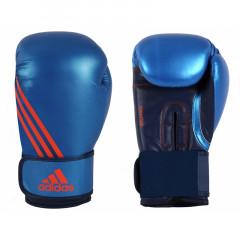 Gants de boxe Speed 100 Adidas - Bleu/Rouge
