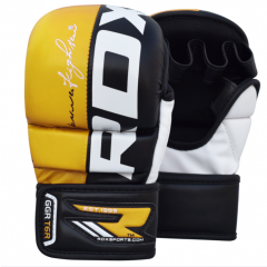 Gants de MMA Sparring RDX Sports T6 - Jaune