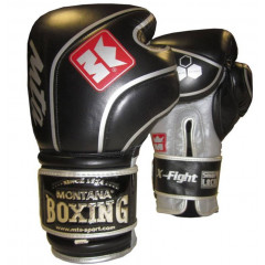 Gants de boxe Montana X-Fight Evo Black