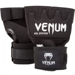 "Venum ""Kontact"" Gel Glove Wraps - Black"