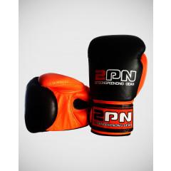 Gants de boxe Sitsongpeenong - Noir/Orange