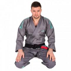 Kimono Jiu-Jitsu Tatami FW Estilo 5.0 Premier - Grey/Mint