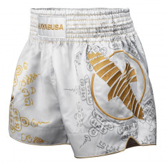 Short de Muay Thai Hayabusa Falcon - Blanc