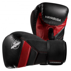 Hayabusa T3 Boxing Gloves - Black/Red