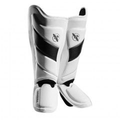 Protège-tibias Hayabusa T3 - Blanc/Noir