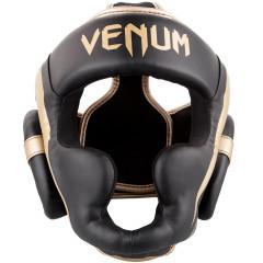 Venum Elite Headgear - Black/Gold