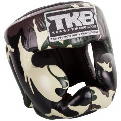 Top King Empower Creativity Camo Headgear for Boxing