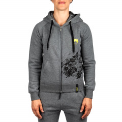 Venum Floral Hoody - Heather Grey - For Women