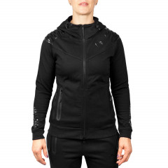 Venum Laser Hoody - Black/Black - For Women - Exclusive