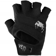 Venum Hyperlift Training Gloves - Black/Black
