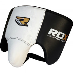 Groin guards RDX Sports Boxing Thai - White/Black