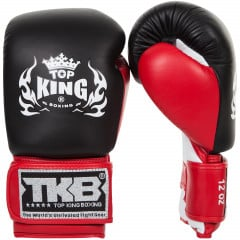 Boxing gloves Double Velcro Neon 2016 - Red / Black / White
