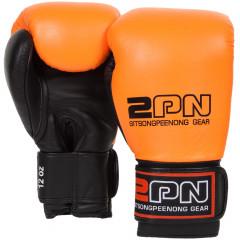 Gants de boxe Sitsongpeenong - Orange/Noir
