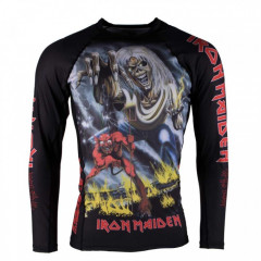TATAMI X IRON MAIDEN Number of the beast Rashguard