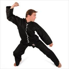 Kung Fu Wu Shu outfit - Black