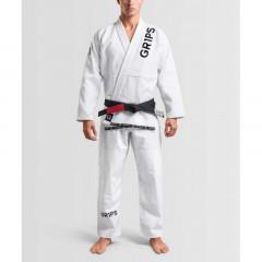 Kimono JJB Grips Primero Competition - Blanc