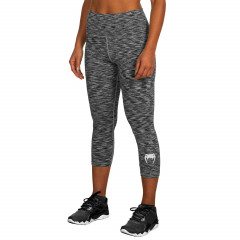 Venum Heather Legging Crops - Heather Black