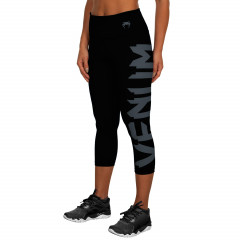 Venum Giant Leggings Crops - Black/Grey - For Women