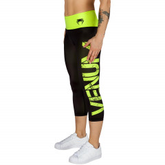 Venum Power Leggings Crops - Neo Yellow/Black